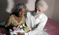 72 წლის ინდოელი დედა გახდა