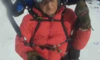 გივი სიხარულიძე 3.500 მეტრის სიმაღლიდან პარაშუტით გადმოხტა