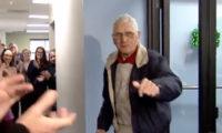 100 წლის პენსიონერი საკუთარ იუბილეზე დაასაქმეს