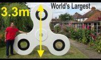 ბრიტანელმა მსოფლიოში ყველაზე დიდი სპინერი დაატრიალა