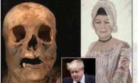 ბორის ჯონსონის დიდი ბებიის მუმიფიცირებული სახე აღადგინეს
