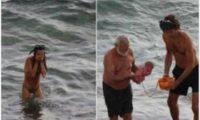 რუსმა ტურისტმა ზღვაში იმშობიარა – ფოტოები
