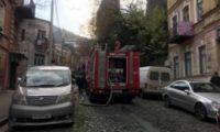 თბილისში მოსკოვის გამზირზე ხანძარს 1 ადამიანი ემსხვერპლა