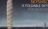 არქიტექტორებმა დასაკეცი ცათამბჯენი გამოიგონეს – ვიდეო