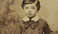 5 წლის ალბერტ აინშტაინის ფოტო აუქციონზე გაიტანეს