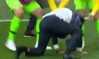 ტიტემ რა ისკუპა! – ბრაზილიის მწვრთნელის სიხარული კოუტინიოს გოლის შემდეგ – ვიდეო