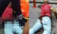 კასტრაცია ქუჩაში – მამამ მის შვილზე მოძალადე მამაკაცს სასქესო ორგანოში დანა ჩაარტყა