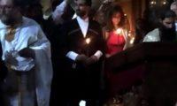 სალომე ზურაბიშვილის ვაჟმა, თემურ გურჯისტანმა, ცოლი მოიყვანა – ქართულ-ფრანგული ქორწილი ყაზბეგში