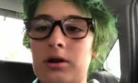 ნიკოლოზ სააკაშვილმა თმები მწვანედ შეიღება – ვიდეო