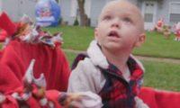 ტვინის კიბოთი დაავადებული 2 წლის ბავშვისთვის მთელმა ცინცინატიმ შობა წინასწარ აღნიშნა – ვიდეო