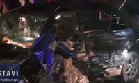რუსთავი-თბილისის მაგისტრალზე ერთმანეთს 5 მანქანა შეეჯახა – 30 წლის მამაკაცი დაიღუპა – ვიდეო