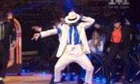 """ირაკლი მაქაცარიამ უკრაინულ """"ცეკვებში"""" მაიკლ ჯეკსონი განასახიერა – ვიდეო"""