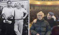 """""""გუშინ და დღეს"""" – რობერტ სტურუა კახი კავსაძესთან ერთად ფოტოებს აქვეყნებს"""