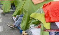 ქართველები საფრანგეთში ღია ცის ქვეშ ცხოვრობენ – კარვების ქუჩა მონპელიეში
