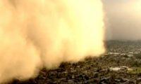 მტვრის ქარიშხალი არიზონაში – ვიდეო