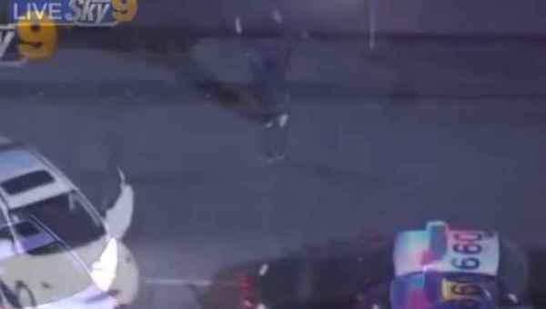 ლოს-ანჯელესში, დაკავებისას, ქართველმა შალახო იცეკვა - ვიდეო