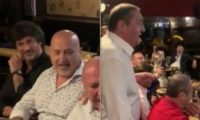 როგორ ერთობიან მინსკში კახა კალაძე, დავით საგანელიძე და ბექა ოდიშარია  – ვიდეო