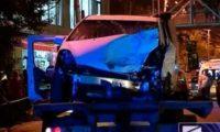ვაზისუბანში მანქანამ ქალი გაიტანა და მერე 3 მანქანას დაეჯახა