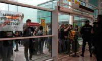 ბარსელონას აეროპორტში საპროტესტო აქციის გამო 70 რეისი გადაიდო