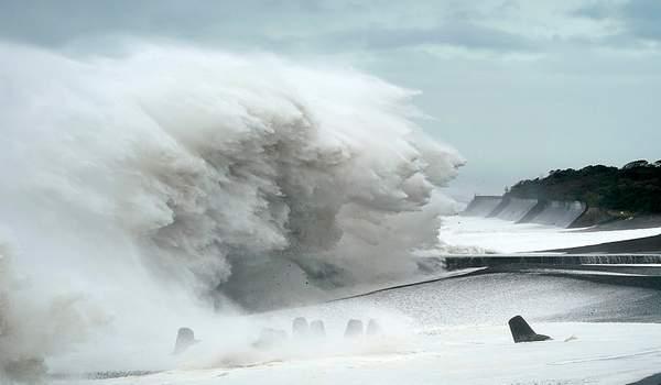 ტაიფუნ ჰაგიბისს იაპონიაში მიწისძვრა დაემატა - 7 მილიონი ადამიანის ევაკუაცია გამოცხადდა