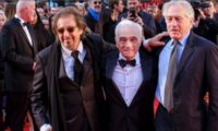 """მარტინ სკორსეზე, რობერტ დე ნირო და ალ პაჩინო ლონდონში """"ირლანდიელის"""" პრემიერაზე – ვიდეო"""
