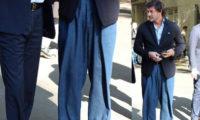 კახი კალაძის უცნაური ჯინსის შარვალი განხილვის საგანი გახდა