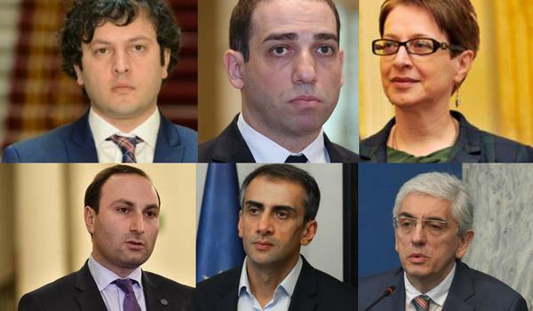 ირაკლი კობახიძე, ირაკლი შოთაძე, ნინო გვენეტაძე, ანრი ოხანაშვილი, გაგა კახიანი - ვინ გახდება საკონსტიტუციო სასამართლოს თავმჯდომარე?