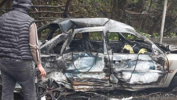 გურიაში ტოიოტა ოპელს დაეჯახა – 22 წლის მამაკაცი დაიღუპა, ოპელი დაიწვა