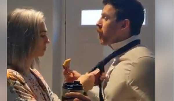 """""""სამსახურში გაუშვა"""" – კადრები ინგლისიდან – ვიდეო"""