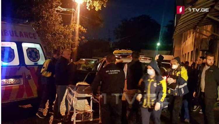 ზუგდიდთან მიკროავტობუსს მერსედესი დაეჯახა – 5 ადამიანი დაშავდა