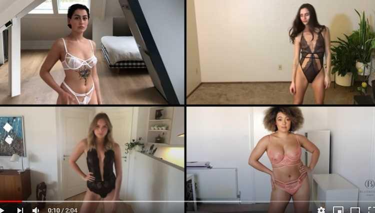 200 მოდელის ონლაინ პოდიუმი - ბლუბელამ ვირტუალური შოუ მოაწყო - ვიდეო