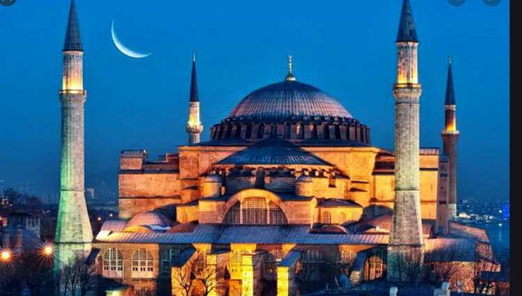თურქეთმა აია სოფია მეჩეთად გადააკეთა