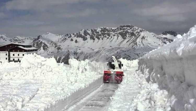 იტალიაში თოვლი მოვიდა – ვიდეო