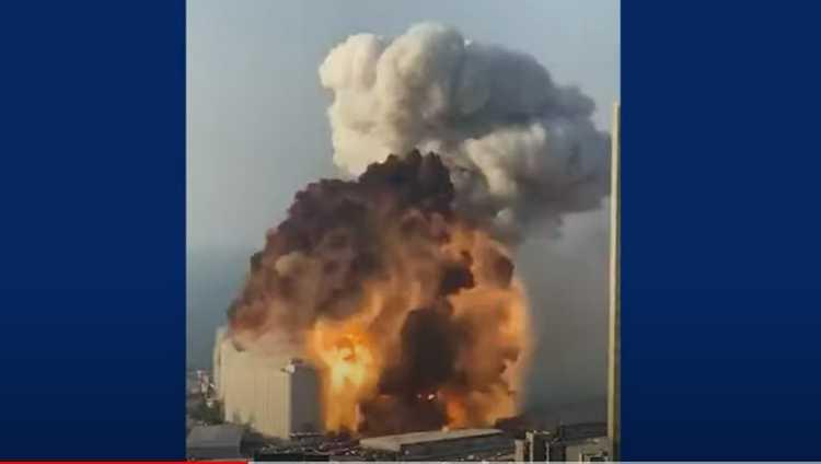 ძლიერი აფეთქება ბეირუთში – დაიღუპა 50, დაიჭრა 2.700 ადამიანი – ვიდეო