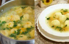 წვნიანი ყველის ბურთულებით