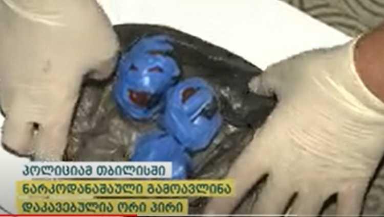 პოლიციამ ლ.ბ. და მ.გ. ნარკოდადანაშაულისთვის დააკავა – ვიდეო