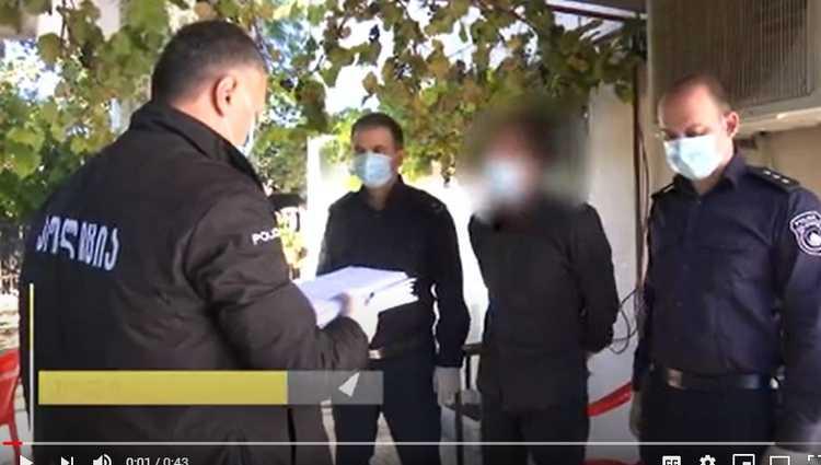 ქობულეთში ინკასატორის ძარცვისთვის 34 წლის გ.მ. დააკავეს – ვიდეო