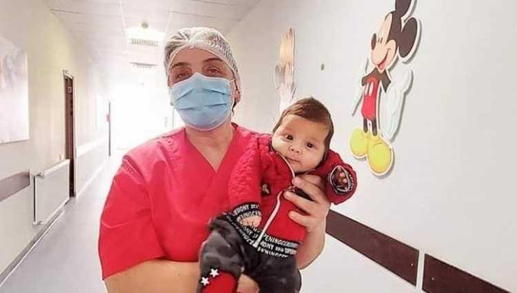 ქუთაისში 1 თვის პაციენტმა კოვიდ 19 დაამარცხა