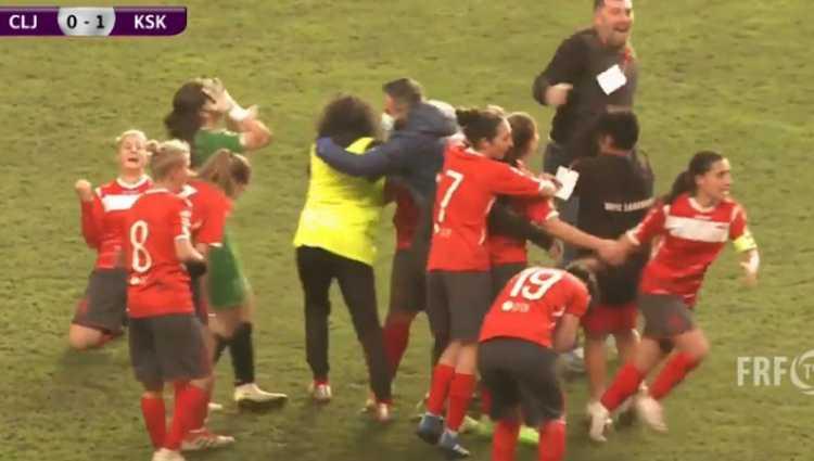 ლანჩხუთის გურია ქალთა ფეხბურთში ჩემპიონთა ლიგის ნოკაუტის სტადიაზე გავიდა