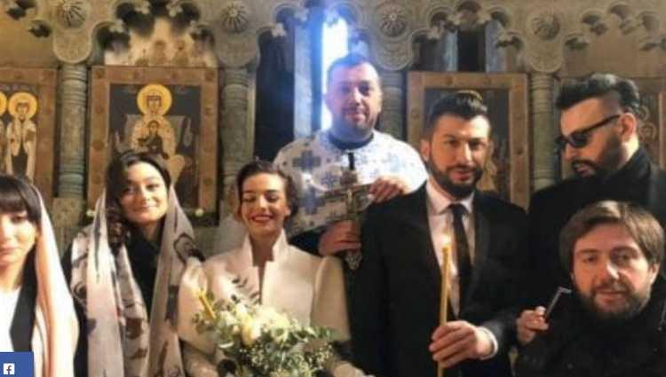 გიორგი გასვიანი მარიტა მელიქიშვილზე დაქორწინდა