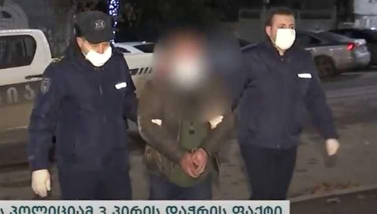 გურჯაანში 3 ადამიანის დაჭრისთვის 50 წლის გ.გ. დააკავეს – ვიდეო