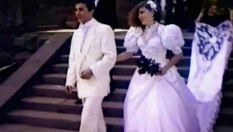 """""""ეკა ხვედელიძის კაბის შლეიფი ქორწილში 7 ქალს მიჰქონდა"""""""