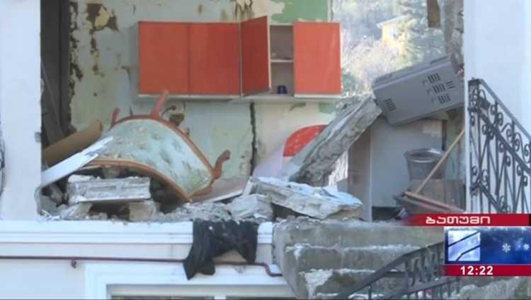 გონიოში სურმანიძეების სახლში აფეთქება მოხდა – 3 ადამიანი დაშავდა