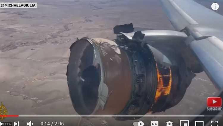დენვერი-ჰონოლულუს ბორტი ჰაერში დაიშალა და დენვერში ავარიულად დაჯდა – ვიდეო