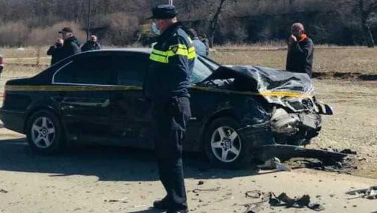 ავარია თელავში – 2 ადამიანი დაშავდა