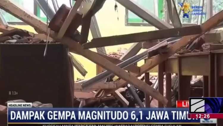 ინდონეზიაში 6.1 მაგნიტუდის მიწისძვრა მოხდა - 8 ადამიანი დაიღუპა