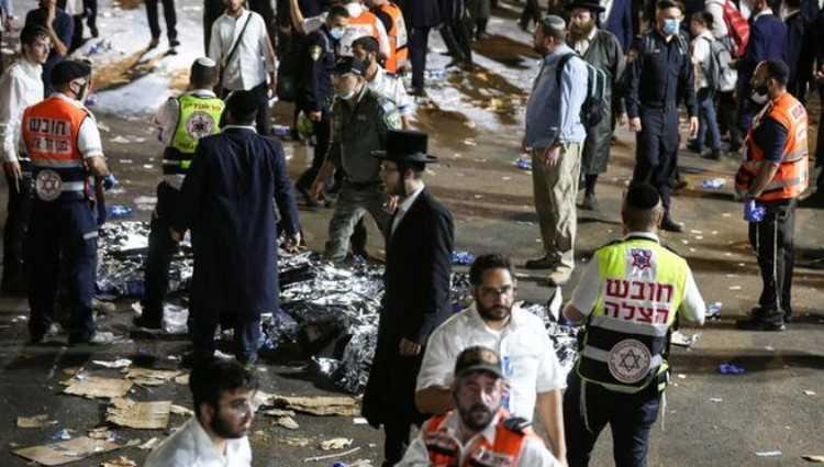 ისრაელში რელიგიურ ფესტივალზე 44 ადამიანი დაიღუპა