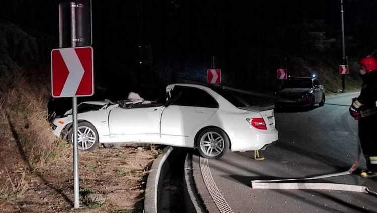 ავარია კუს ტბაზე - 2 ადამიანი დაშავდა
