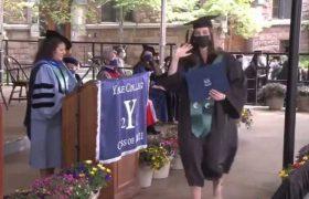 """""""ესეც ასე, მორჩა სტუდენტობას"""" - დავით ბაქრაძის ქალიშვილმა იელის უნივერსიტეტი დაამთავრა - ვიდეო"""