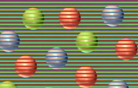 ყველა ეს ბურთი სინამდვილეში 1 ფერისაა - რასაც ხედავთ, ილუზიაა